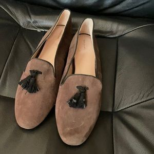 Land's End Brown Loafers